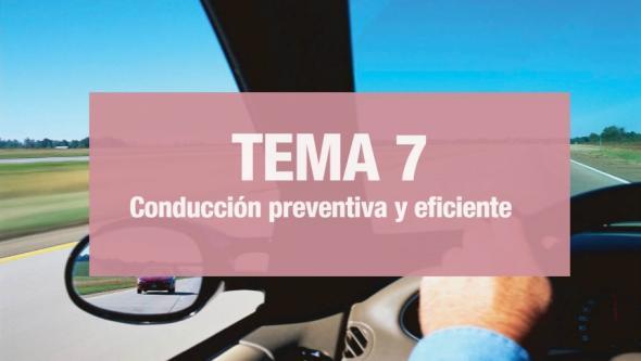 Conducción preventiva y eficiente